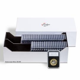 Коробка для монет INTERCEPT BOX 50 SLAB. Leuchtturm