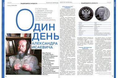 Выдающиеся личности России - Александр Солженицын