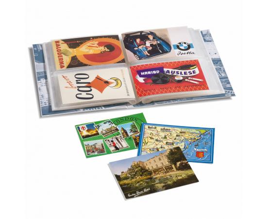 Альбом ALBPK2 с листами для 200 почтовых открыток и фотографий. Leuchtturm.