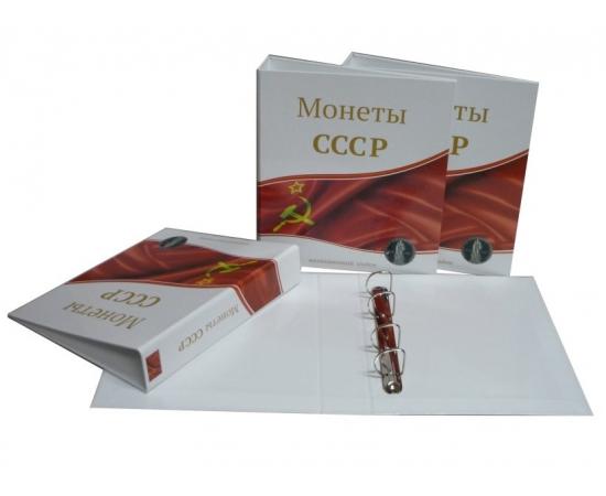 Альбом без листов для монет СССР. СомС.