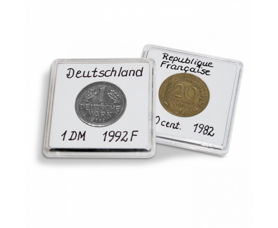 Капсула QUADRUM NOTE для монет - 15 мм. Leuchtturm, #343992