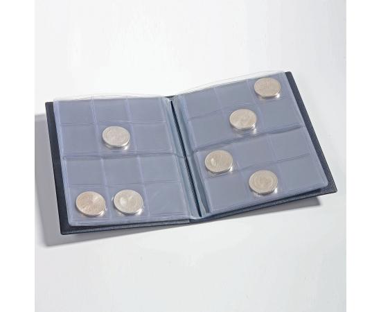 Альбом карманный Route 96 для монет, с листами. Leuchtturm