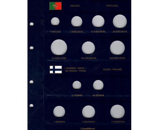 Альбом Vista PRE-Euro, с листами. Том 1. Leuchtturm