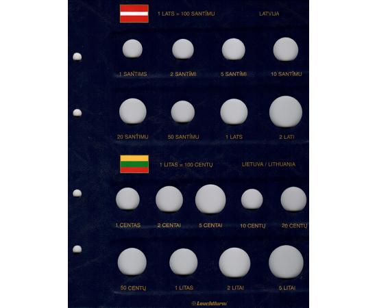 Альбом Vista PRE-Euro, с листами. Том 2. Leuchtturm
