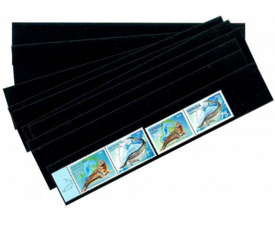 Клеммташи для марок черные 217х21 мм.