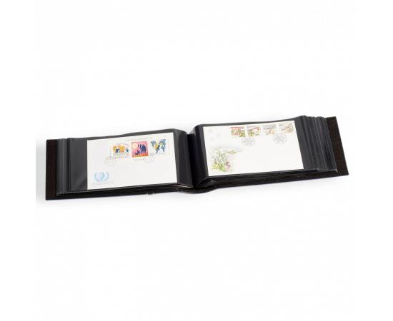 Альбом FDC-2 для марочных блоков, листов и конвертов первого дня, с листами. LEUCHTTURM
