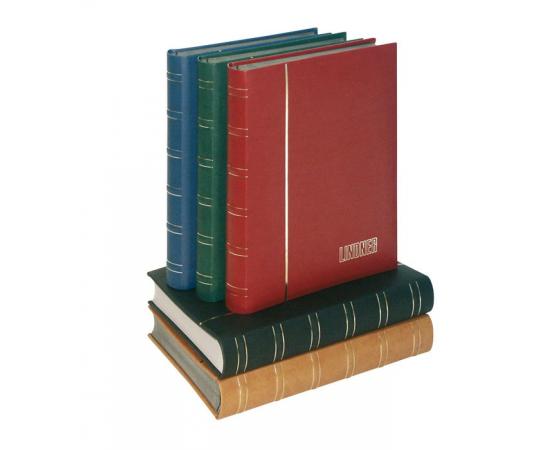 Альбом для марок Elegant Nubuk, на 60 страниц. Lindner, #1181