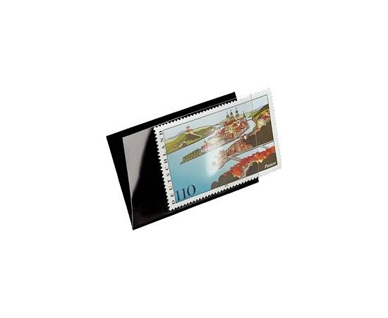 Клеммташи для марок черные 217х60 мм. Leuchtturm, # 301572