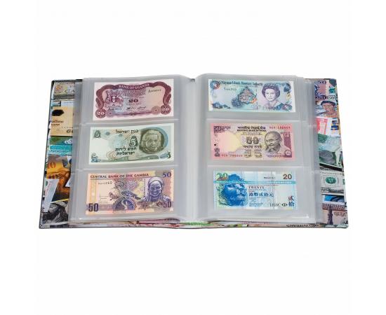 Альбом BILLS на 300 банкнот. Leuchtturm