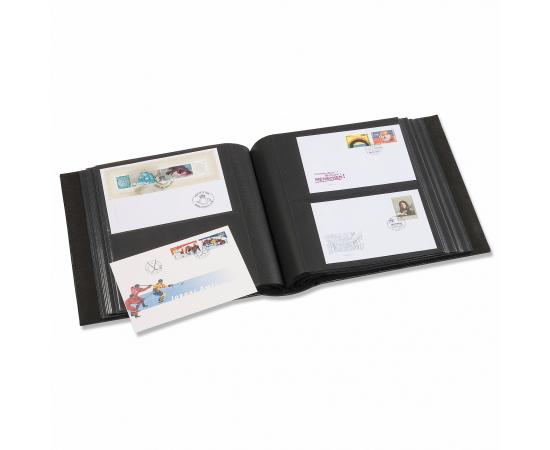 Альбом на 200 открыток (конвертов) в футляре, с листами. Leuchtturm