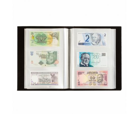 Альбом для банкнот (до 300 шт.), с листами. Leuchtturm