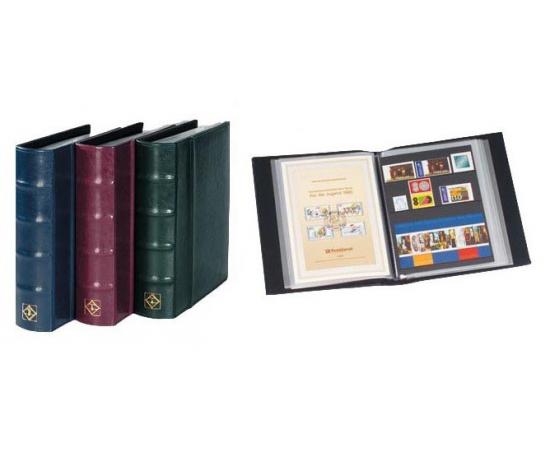 Альбом ETB для открыток формата А5 и марочных листов, блоков, с листами. LEUCHTTURM