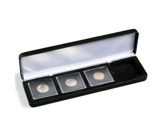 Коробка Nobile Q50/4 на 4 монеты в капсулах Quadrum. Leuchtturm