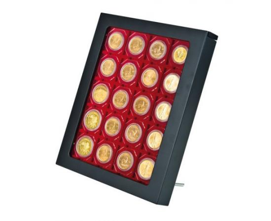 Коробка-витрина для монет CHASSIS S. Lindner, #2486B