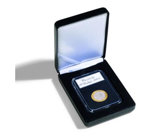 Коробка Nobile SLAB на 1 монету в капсуле Everslab. Leuchtturm
