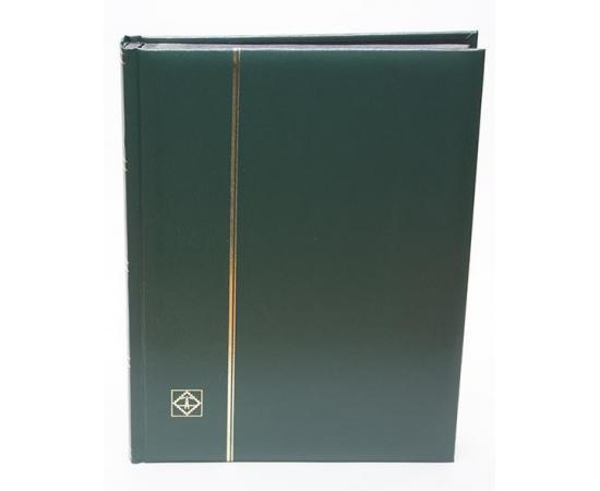 Альбом для марок Comfort, DIN A4, на 32 страницы (черные). Leuchtturm