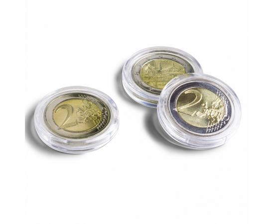 Капсула Caps Ultra 26 без ободка для монет - 26 мм. Leuchtturm, #345007