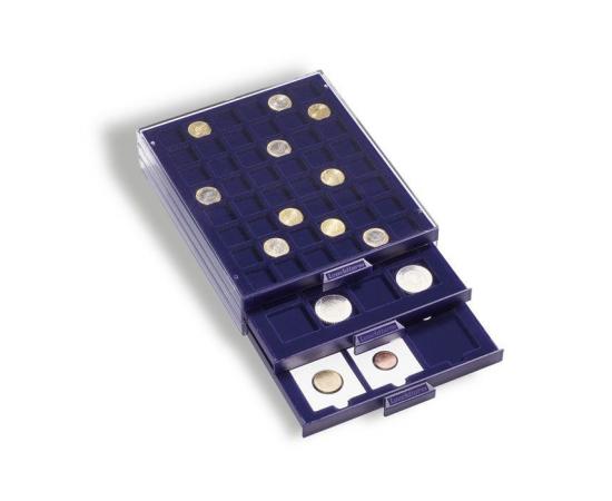 Кассета для монет MBS EURO, на 40 ячеек. Leuchtturm