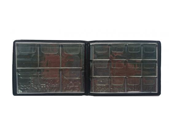 Альбом карманный (комбинированный) для монет на 54 ячейки.
